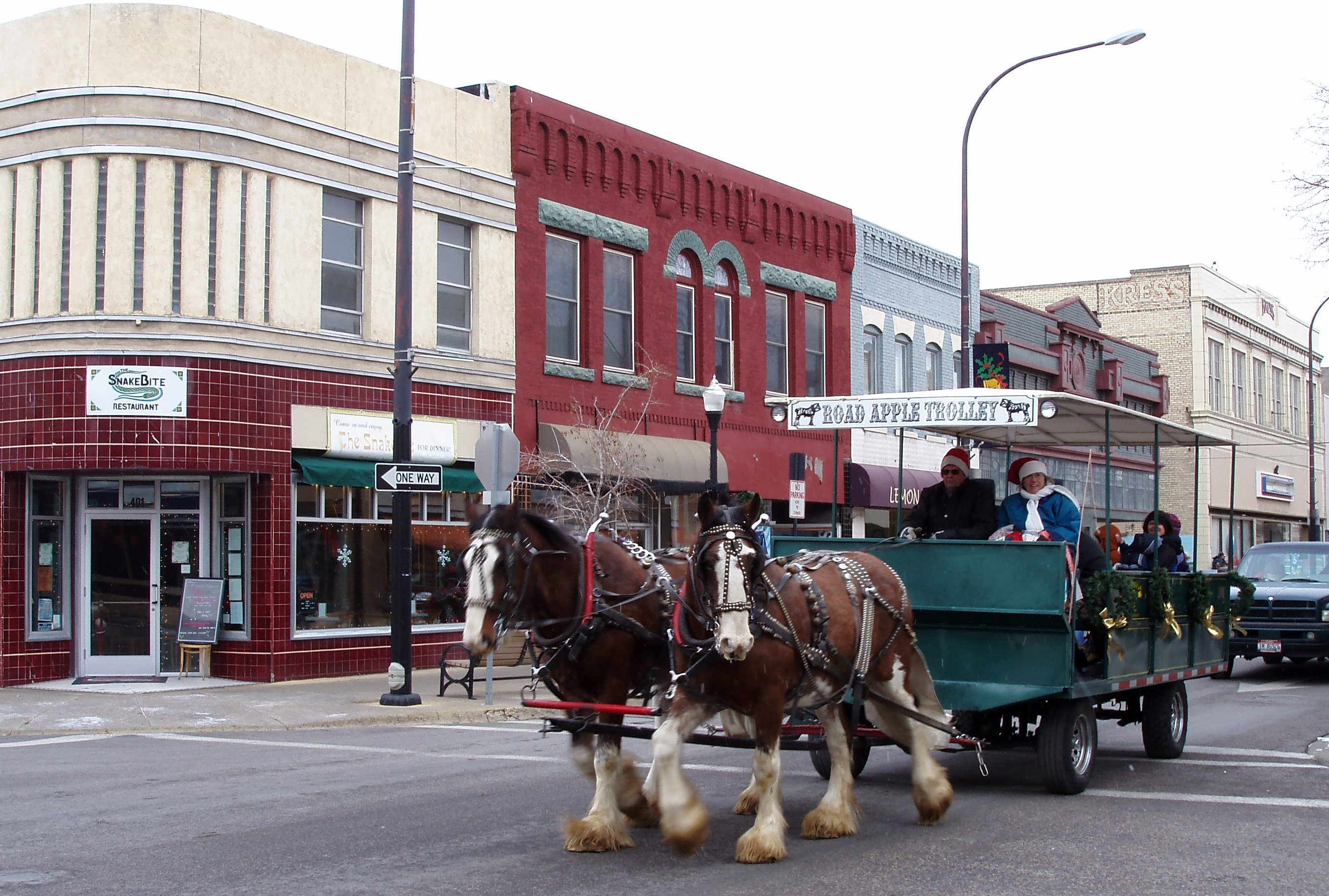 Downtown Horse Drawn Trolley Rides
